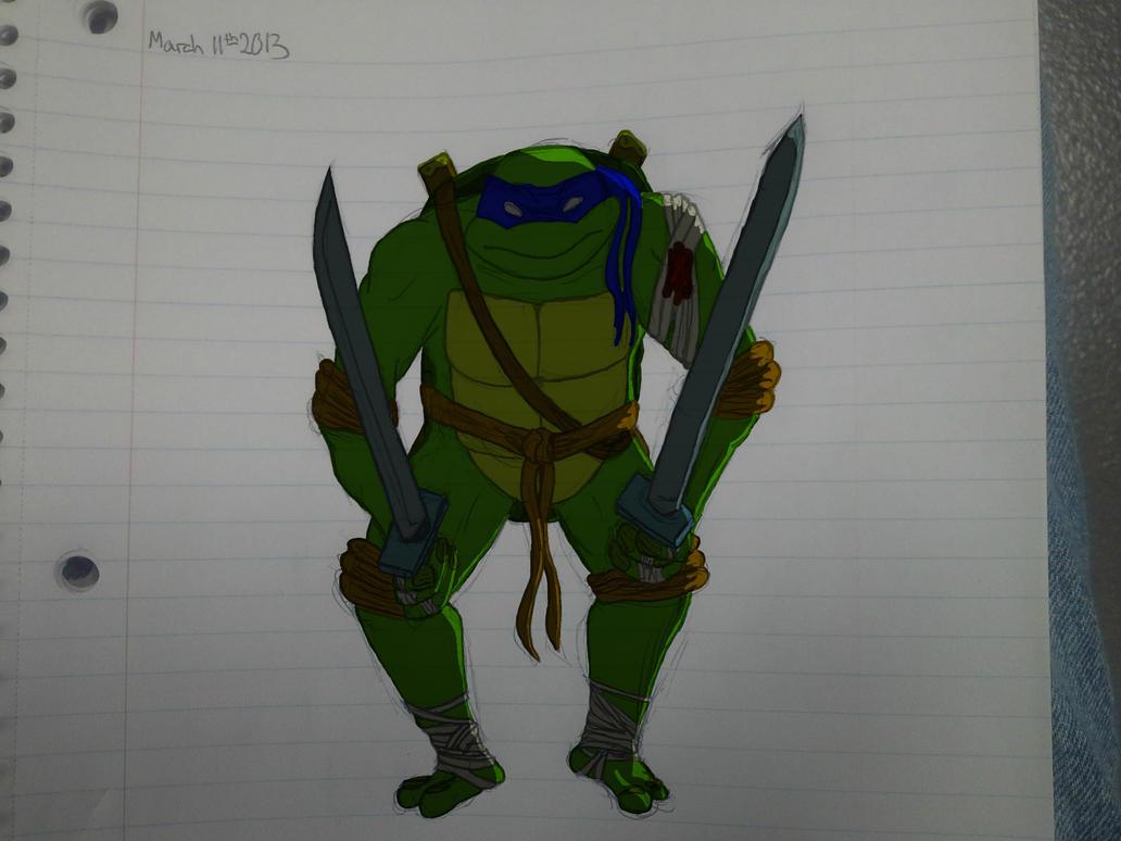 Leonardo tmnt by Sixth-Phase