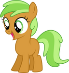Apple Family Filly Vector