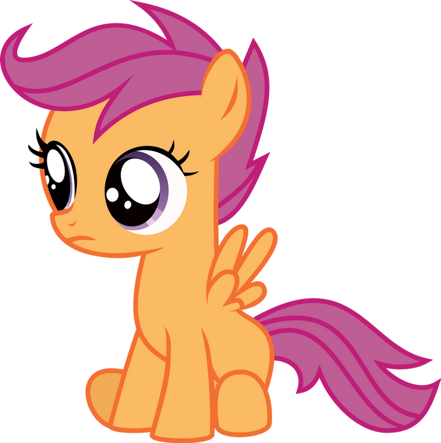 Scootaloo Vector by Kamyk962
