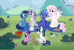 A family Picnic (Colab) by Kamyk962