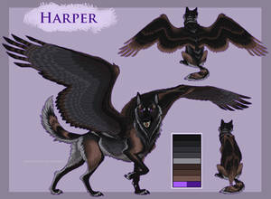 Harper the winged dire babe