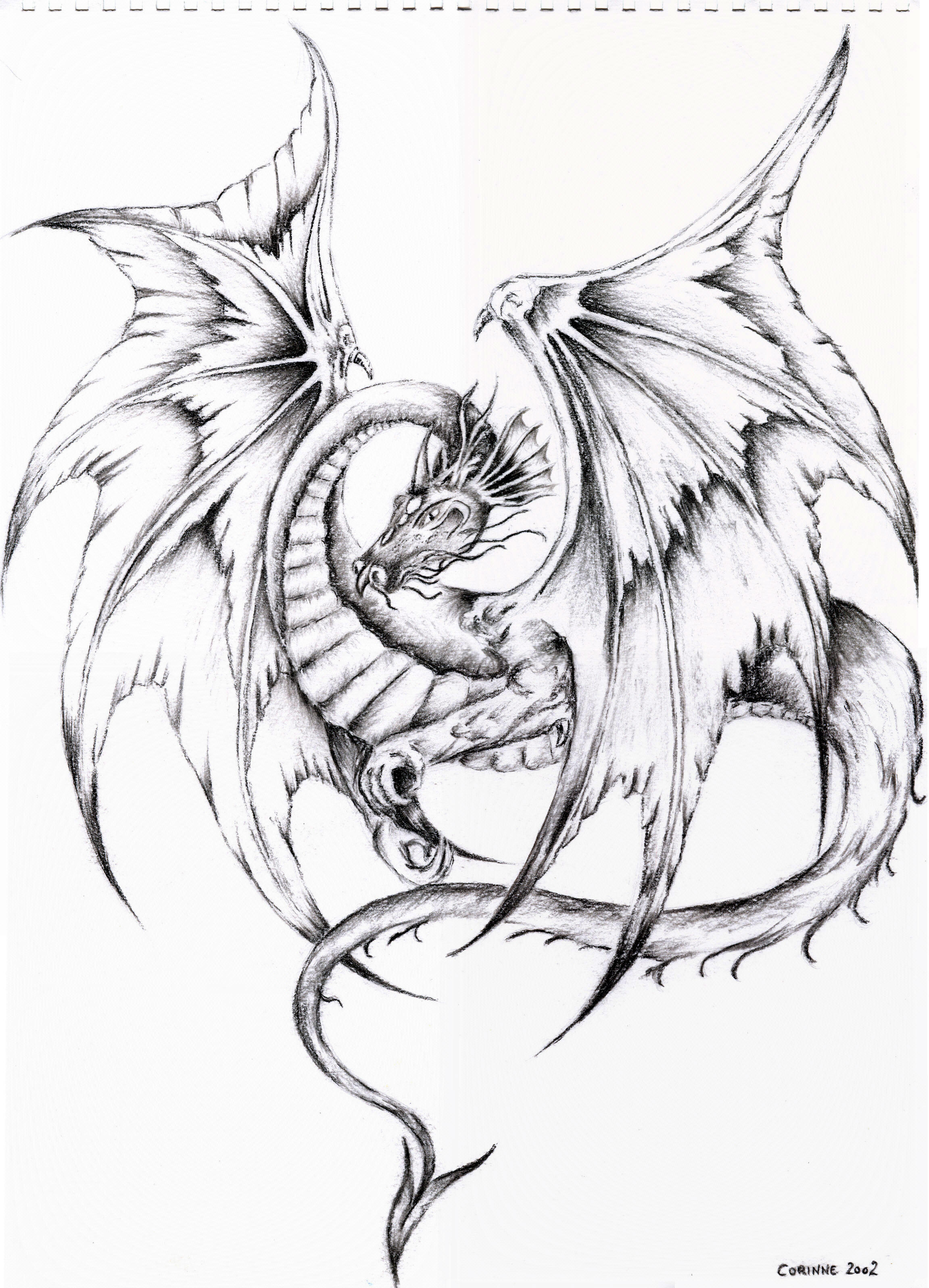 Art moreover How To Draw A Fire Breathing Dragon  Dragons Breathing Fire as well Dragones moreover Coloring Pages Of Dragons For Adults moreover Dibujos. on scary earth creatures