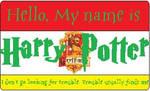 Harry Potter's Nametag by HuntressxTimeLady