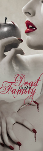 Dead in the Family Bookmark by SniffNSketch