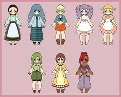Harvest Moon Bachelorettes: Tree of Tranquility