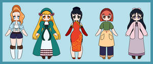 Harvest Moon Bachelorettes: Magical Melody by