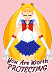 Sailor Moon - You Are Worth Protecting