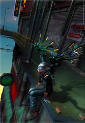 Fly, Dragonfly by JenniSjoberg