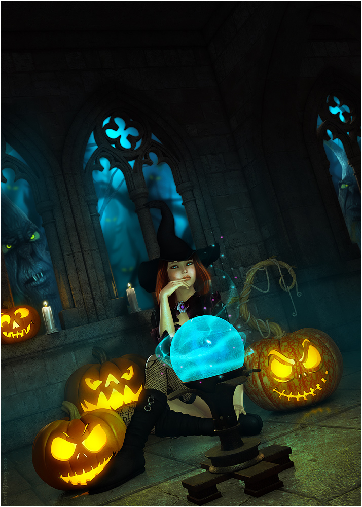 Happy Halloween by JenniSjoberg