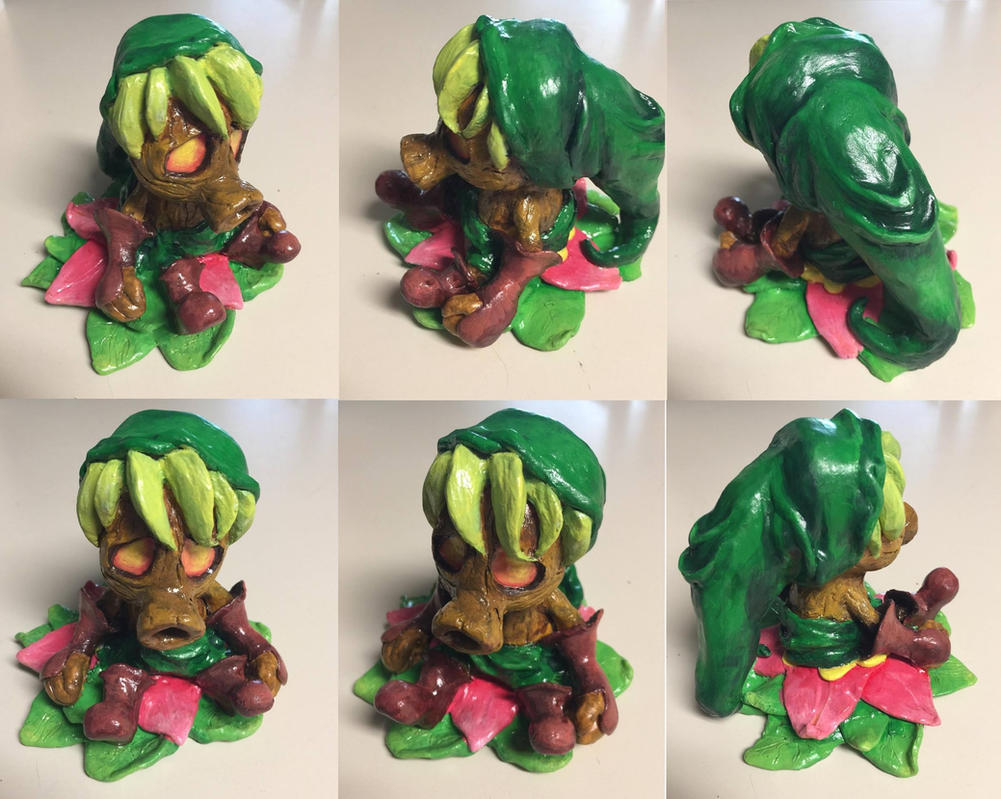 Deku Scrub (For Sale) by ChanSculpts