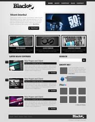 Black2 Wordpress theme by ehlikeyif
