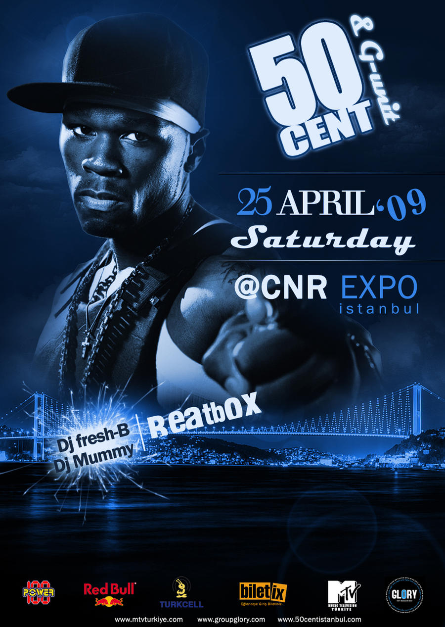50cent Flyer by ehlikeyif