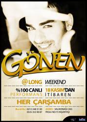 LongWeekend Gonen Flyer by ehlikeyif