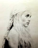 Khaleesi by ArtBySaki