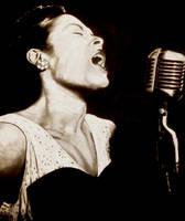 Billie Holiday by ArtBySaki