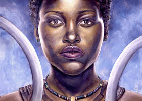 Nakia - Black Panther by ArtBySaki