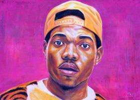 Chance The Rapper by ArtBySaki