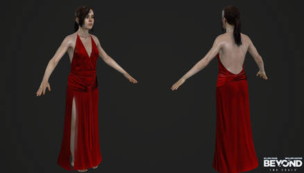 PS3 Beyond Two Souls - Jodie Elegant Dress