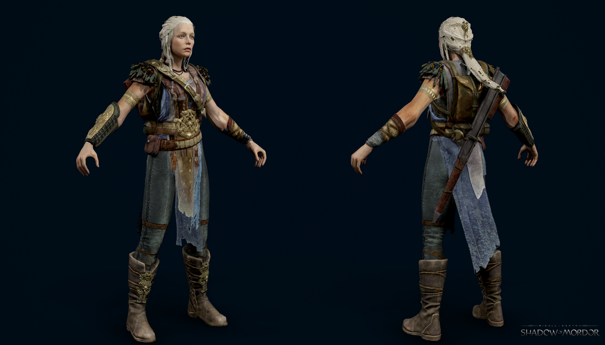 Middle-Earth Shadow Of Mordor - Lithariel By Crazy31139 On -9882