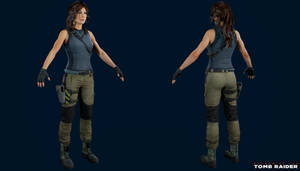 Shadow of the Tomb Raider - Lara Tactical