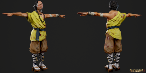 Dead Rising 3 - Harry Zhi Wong by Crazy31139