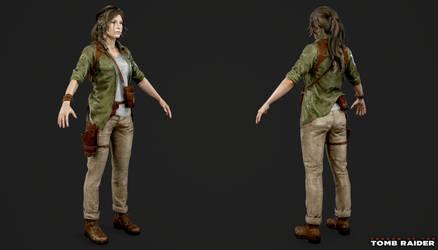 Shadow of the Tomb Raider - Lara Explorer by Crazy31139