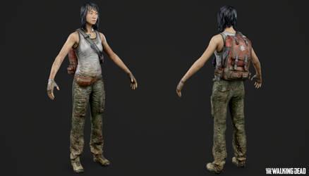 OVERKILLs The Walking Dead - Maya by Crazy31139