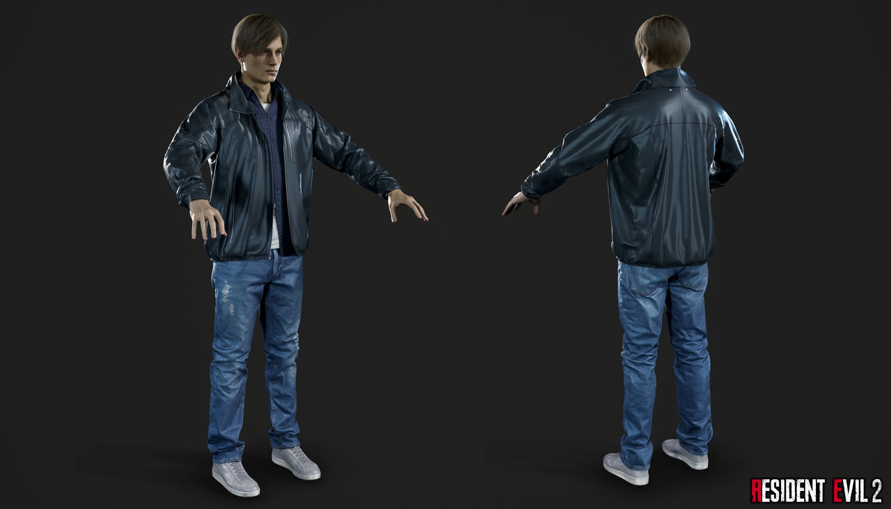 Re 2 Remake Leon Civil By Crazy31139 On Deviantart