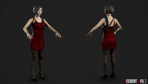 RE 2 Remake - Ada Wong Red Dress