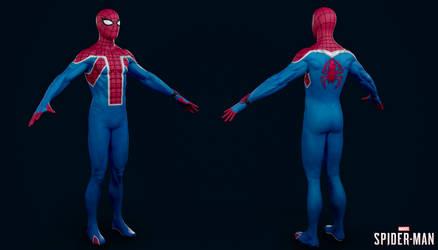 PS4 Marvel Spider-Man - Spider UK Suit