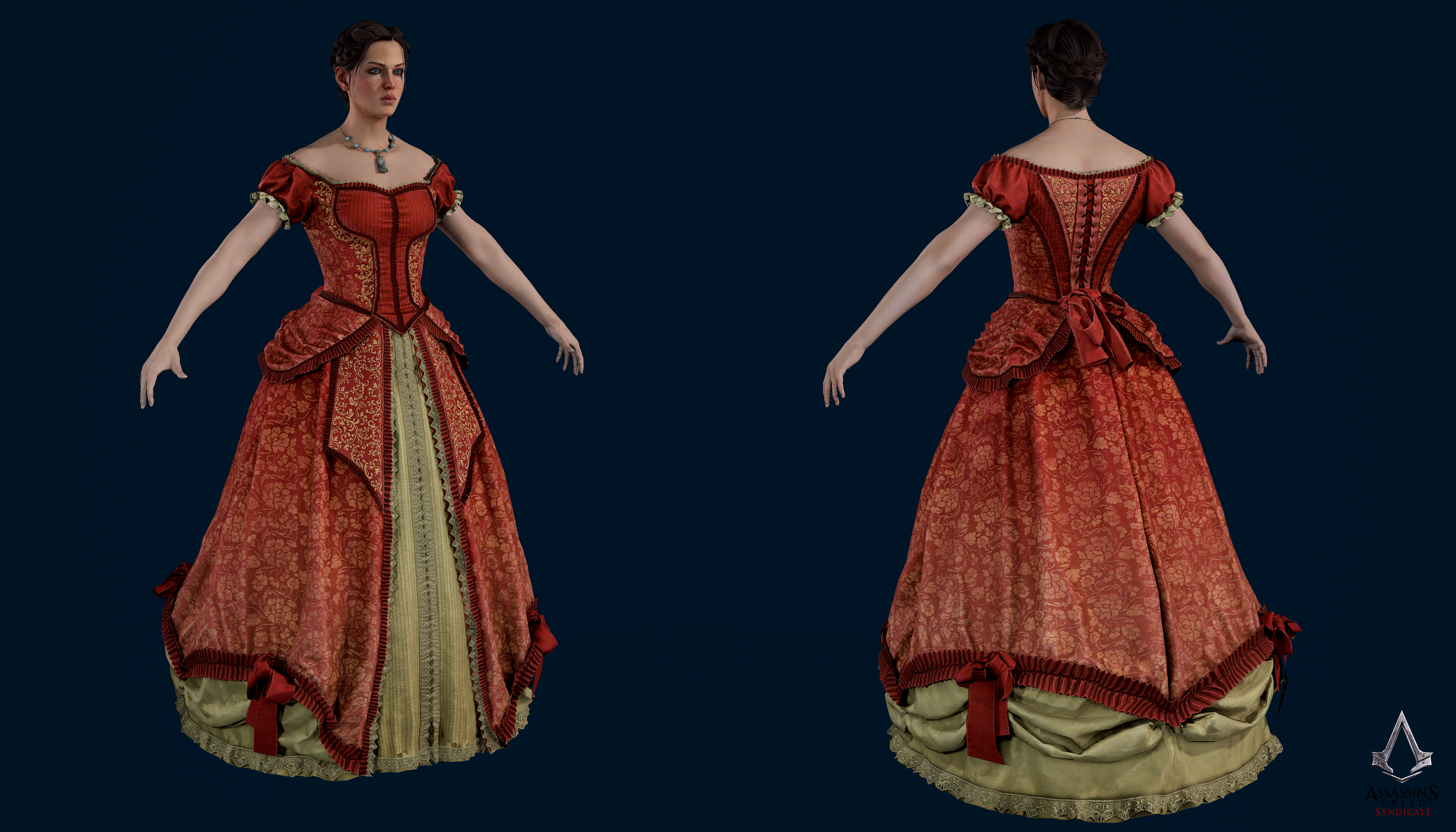 Assassins Creed Syndicate Evie Frye Formal Dress By Crazy31139