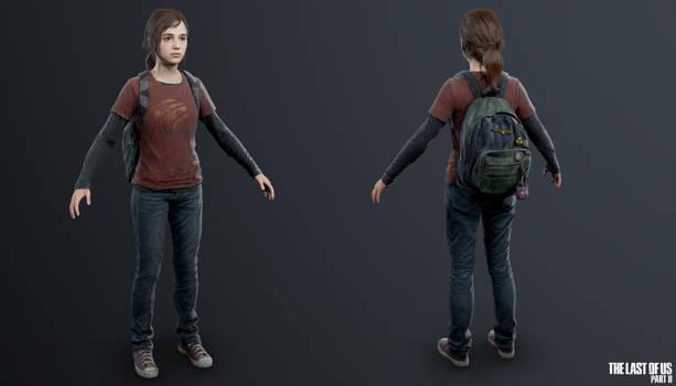 TLOU2 - Young Ellie