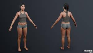 TLOU2 - Dina (Underwear)