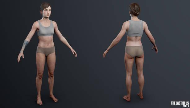 TLOU2 - Ellie (Underwear)