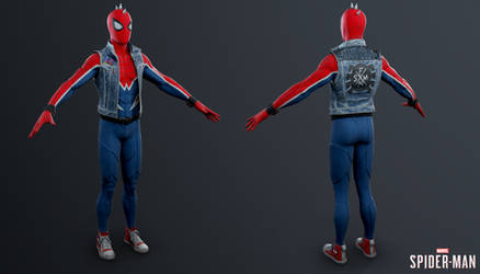 PS4 Marvel Spider-Man - Spider-Punk Suit