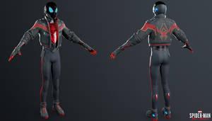 PS4 Miles Morales - Miles Morales 2020 Suit