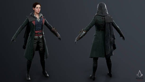 Assassins Creed Syndicate - Evie Military Suit