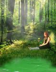 Wood Fairy by Nympherella