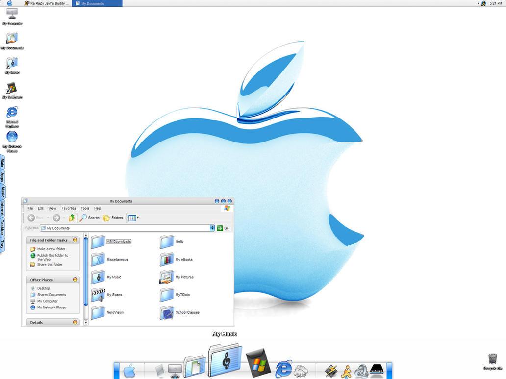 Macintosh Theme for Windows XP by KaRaZyJeW