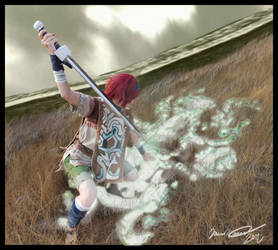 Wander Slaying the Colossus by VFire