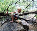 Ordon Link and His Slingshot