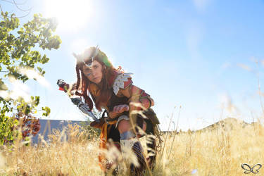 3 minute shoot! Aloy: Horizon Zero Dawn by VFire