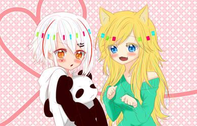 Aereonne and Ninja Matching Icons by Panda-Ouji