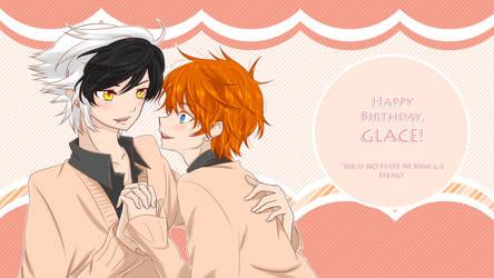 Happy Birthday, Glace! by Panda-Ouji