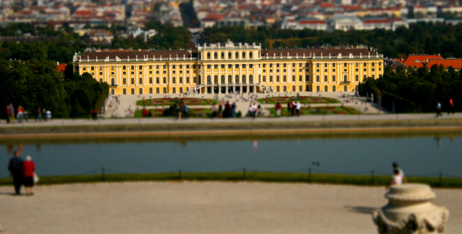 Mini Schoenbrunn Palace by Nadine2390