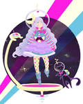 Spacegirl. Spacecat.