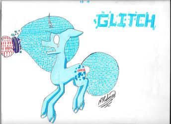 Glitch  ( pony island ) by Kodiiver