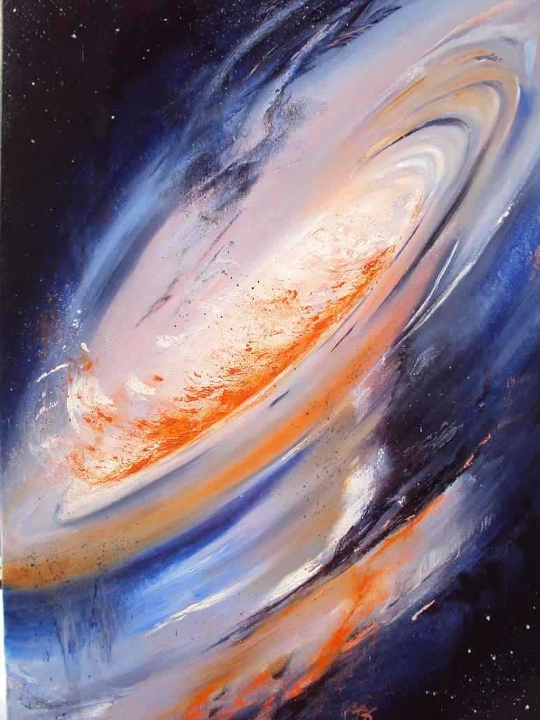 Swirly Universe by Amaterasu1960