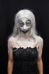 Black and white monster by Fran-photo