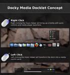 Docky Media Docklet Concept